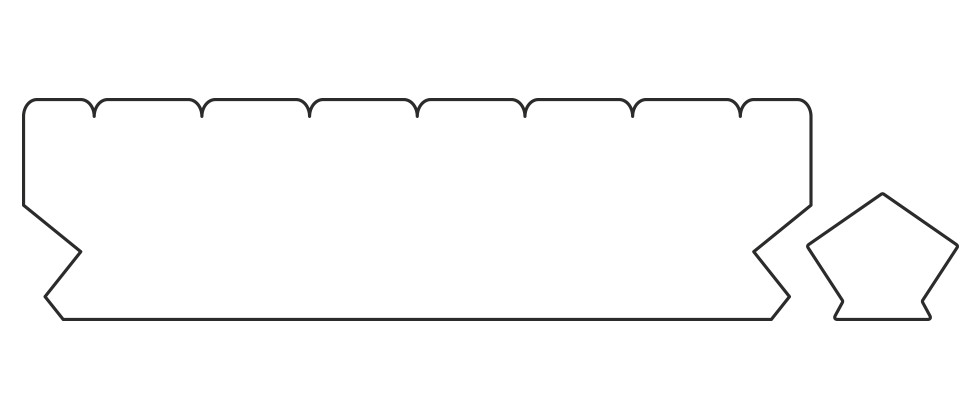 Профиль террасной доски Lunadeck